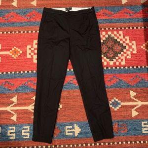 J.Crew Martie pant, Black, size 6T, like new!